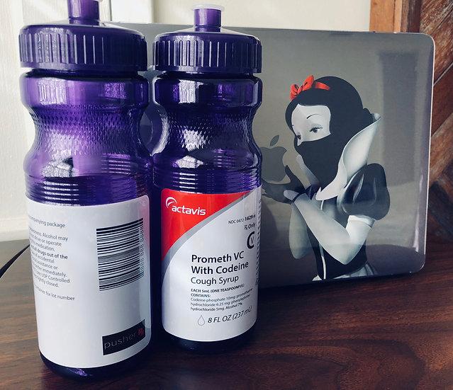 Promethazine 24oz Water Bottle (Purple)