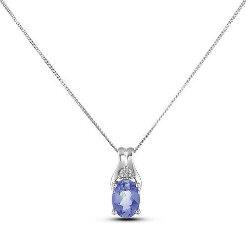 September Birthstone Pendant - Sapphire