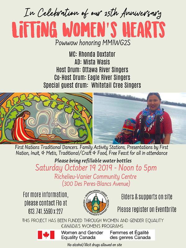 Powwow Poster - Lifting Women's Hearts u