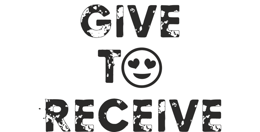 Give to Receive logo for Holiday Fundraiser Popup