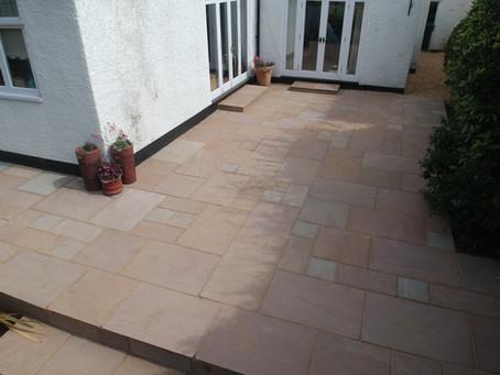 Watford Garden Paving