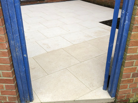 Hertford Paving Redesign - Garden