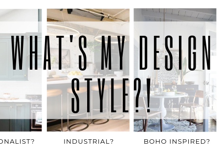 "Help!! ""What's my design style!?"""