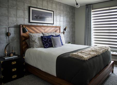 A Bachelor Bedroom Makeover