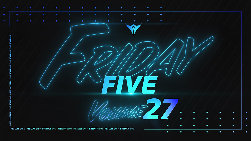 King Penguin Friday Five Title Graphic