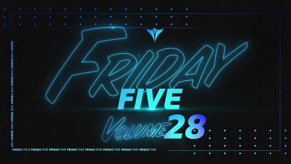 King Penguin Friday Five Volume 28 Logo Design