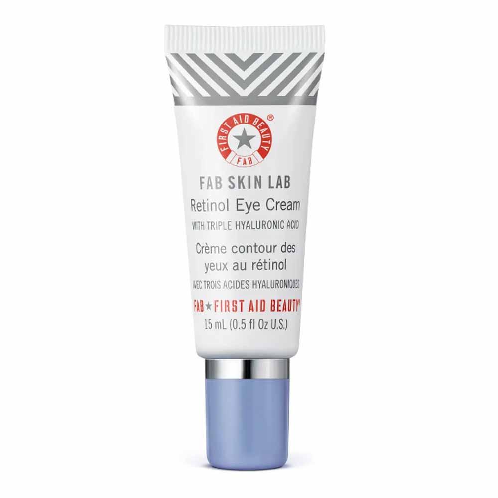 fab skin lab retinol eye cream from first aid beauty