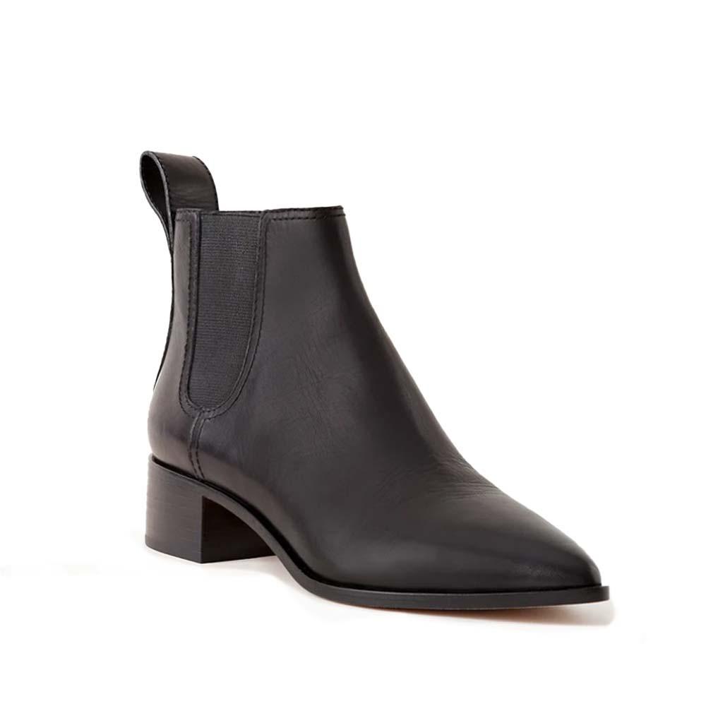 nellie black leather chelsea boot from loeffler randall