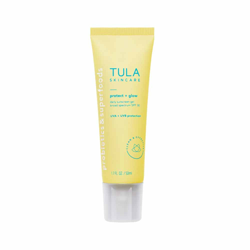 protect and glow daily suncreen spf 30 from tula skincare