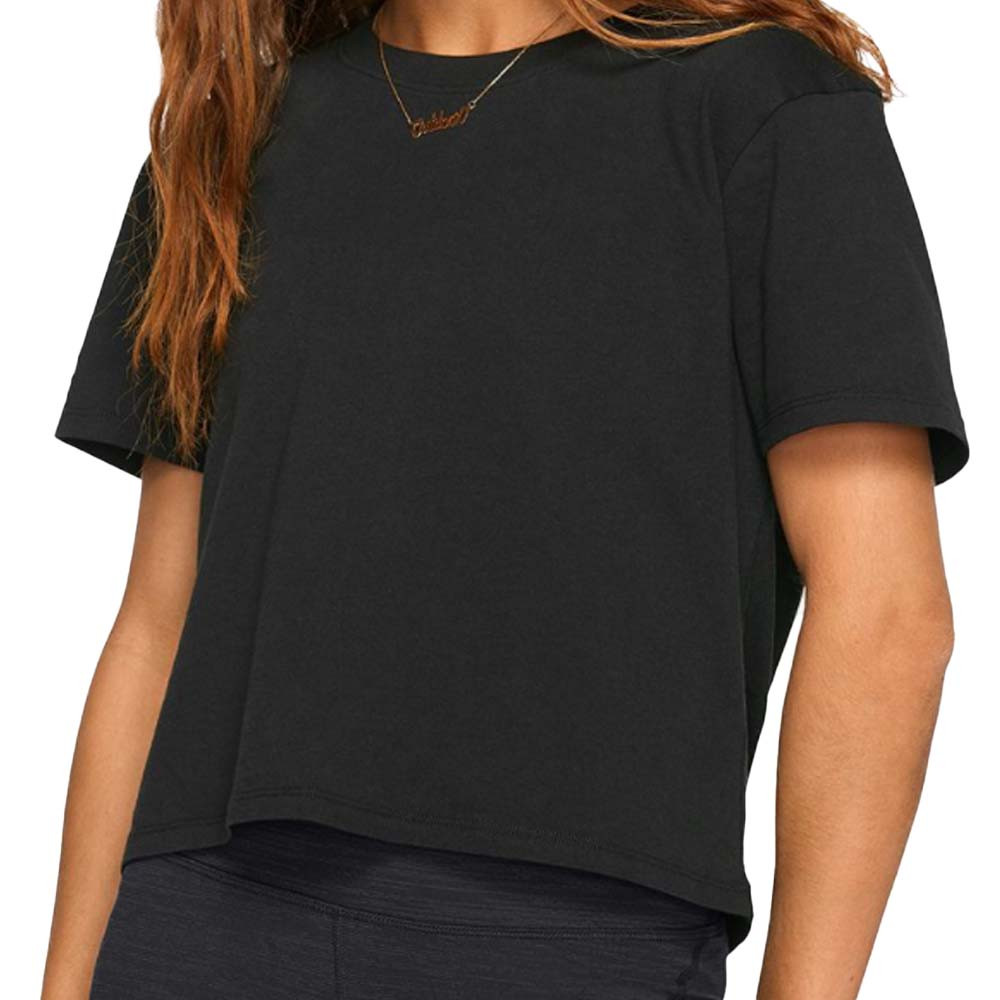 everyday short sleeve tshirt in black form outdoor voices