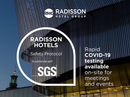 Szybkie testy na koronawirusa w sieci hoteli Radisson