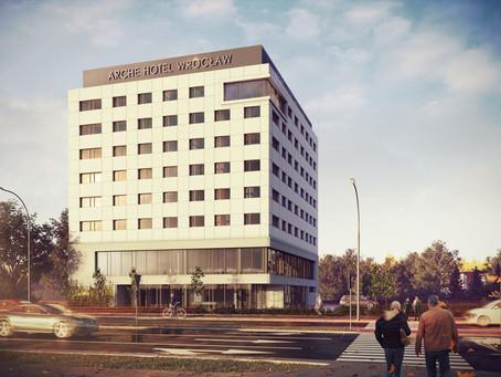Arche Hotel Airport przy lotnisku we Wrocławiu otwarty.