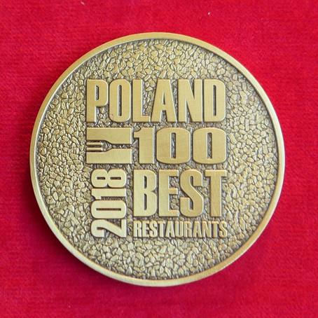 POLAND 100 BEST RESTAURANTS AWARDS 2018 - FINAŁ