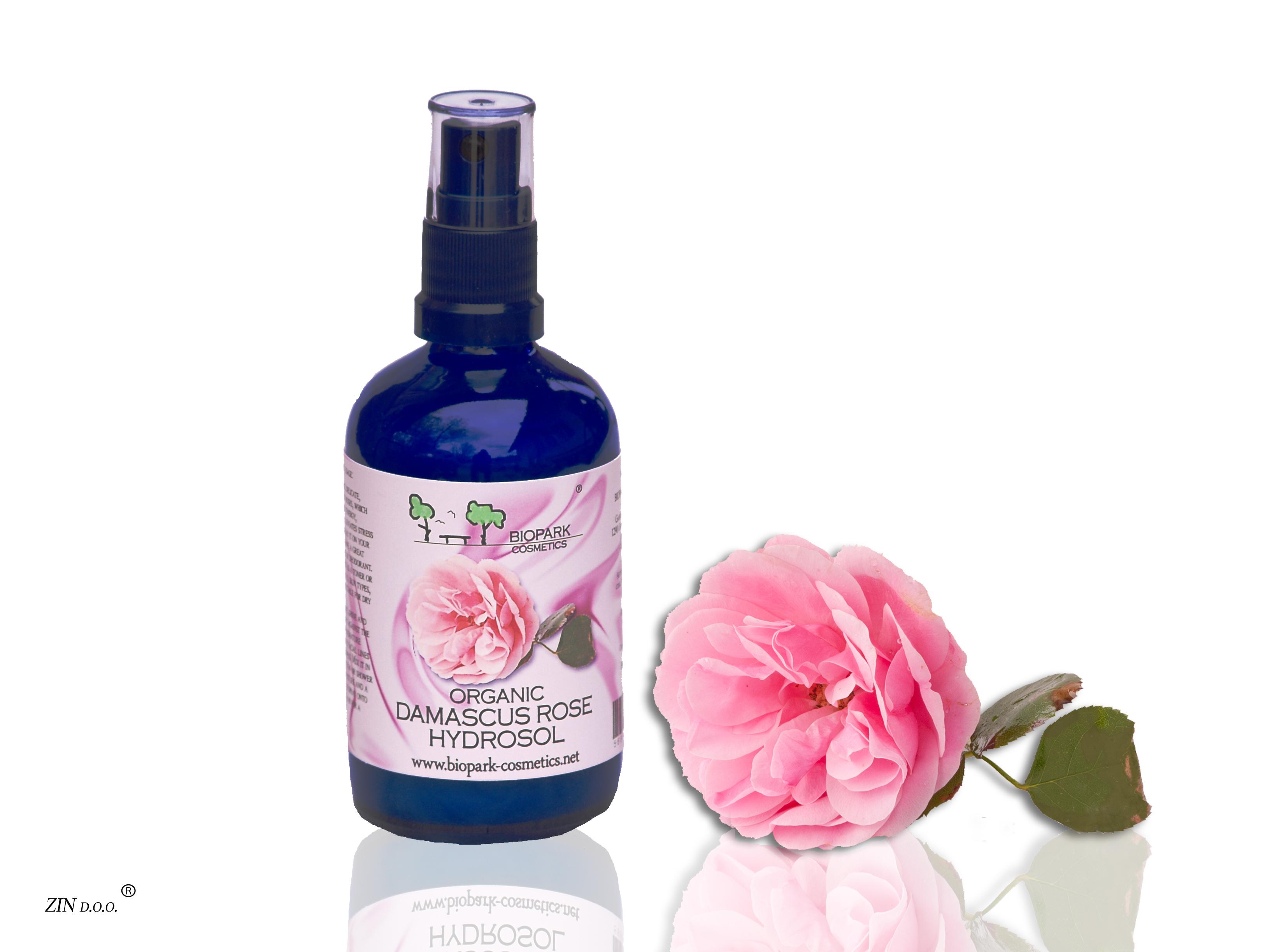 Rose Hydrosol-Organic 100ml