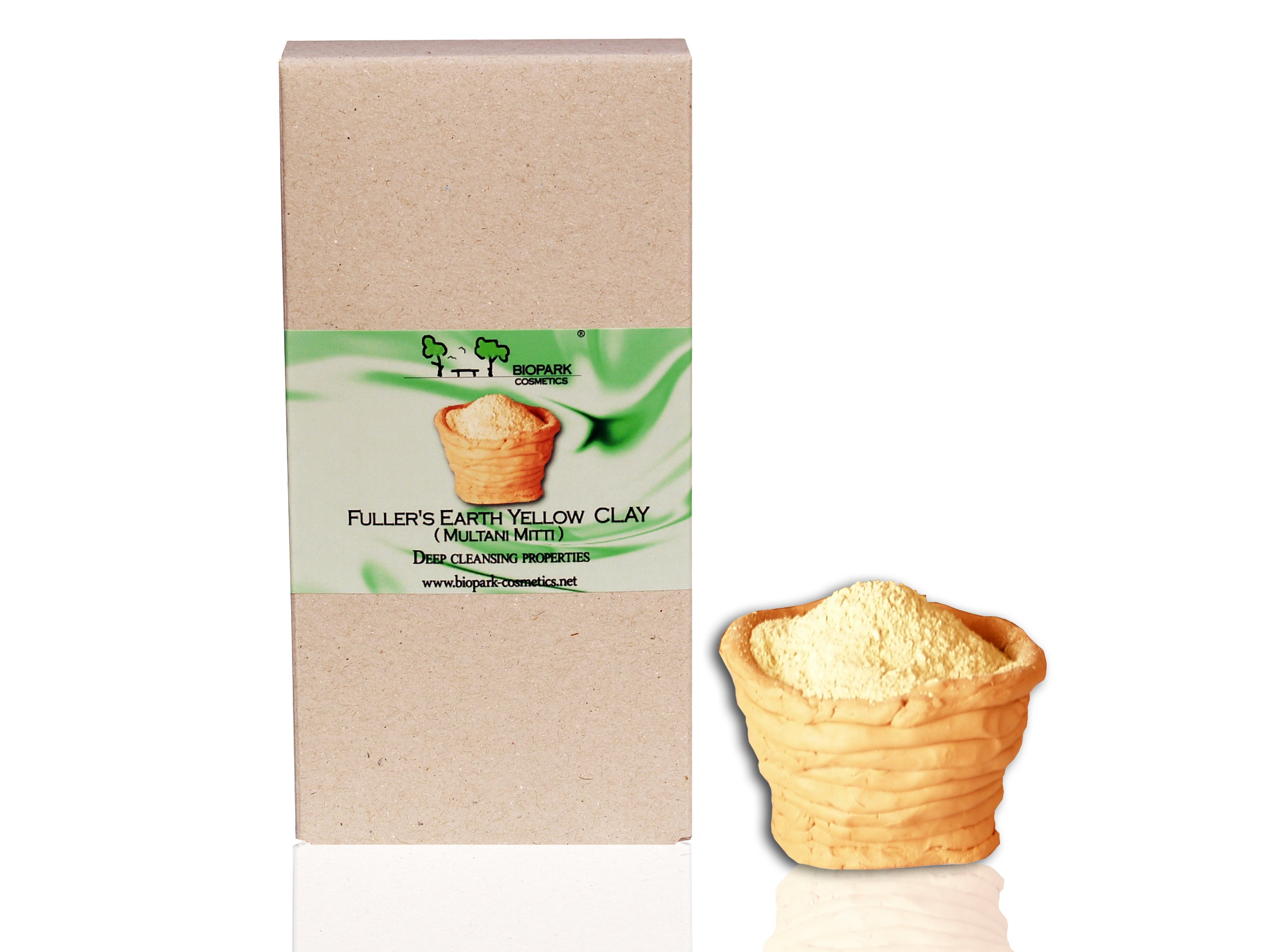 Yellow clay (Multani Mitti) Pure 100