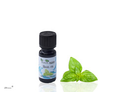 Basil Essential Oil, 10 ml