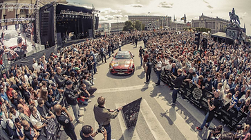 The Gumball 3000 Rally in Stockholm
