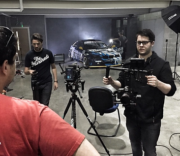 Filming at The Fast Factory