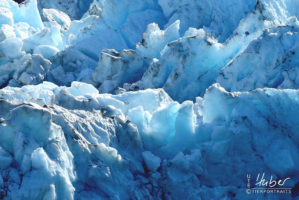 Gletschereis am Blackstone Glacier