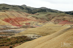 Painted Hills im John Day Fossil Bed