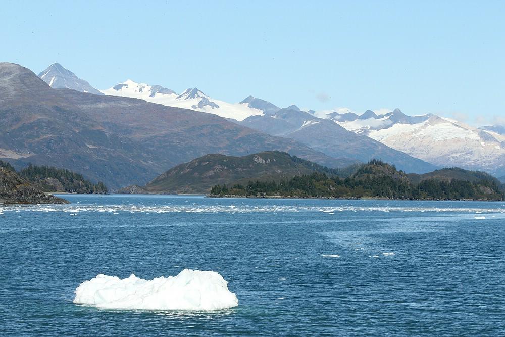 Fahrt zum Blackstone Gletscher