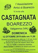 associazione amici di boarezzo castagnata 2019 ottobre castagne festa valganna ganna