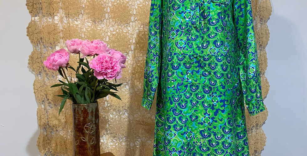 1960's Silk Tunic