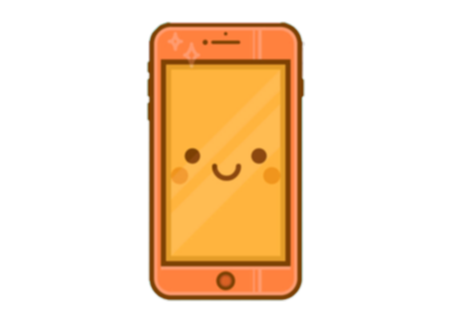 cute phone orange.png
