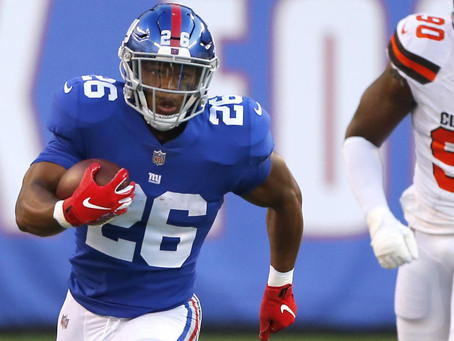 Saquon Barkley Looks Explosive in Pre-Season Debut - Is he a Safe Pick in Round 1?