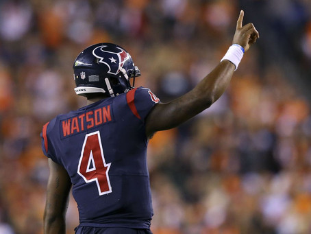 Why I Have Deshaun Watson as My #1 Overall QB this Year
