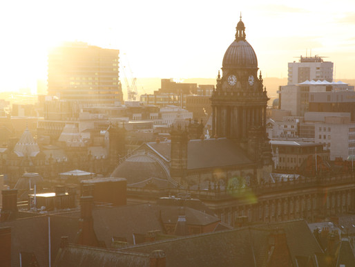 Leeds City in the Evening