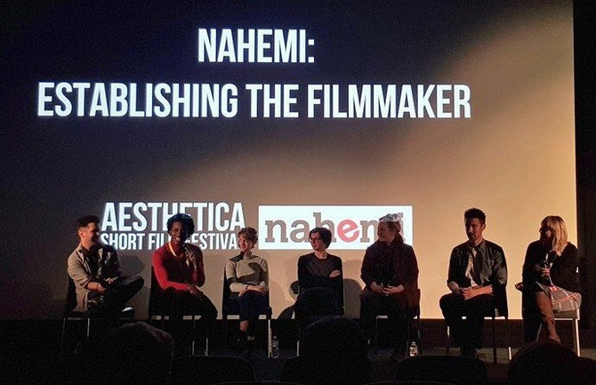 Aesthetica Film Festival: They gave me a microphone