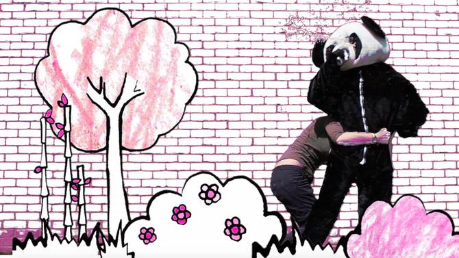 """I'd fight a panda"""