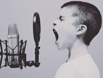 Child and Microphone