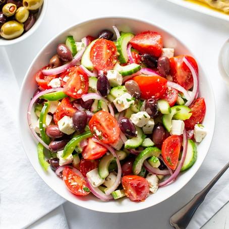 5 Minutes Greek Salad