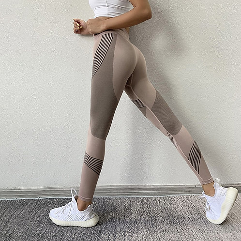High Waist Peach Hips Leggings Quick-Drying