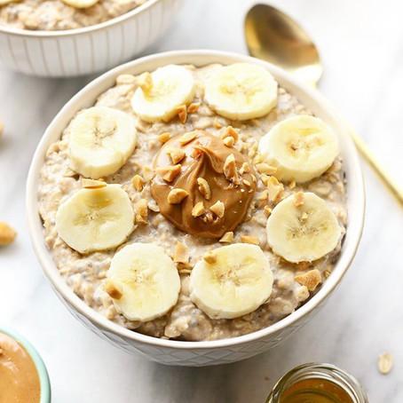 Peanut Butter Honey Banana Overnight Oats