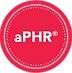 HRCI, red, circular, aPHR digital badge
