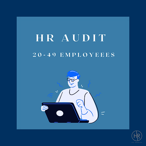 HR Audit | 20-49 Employees