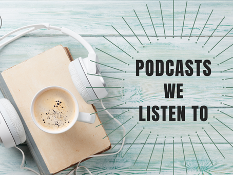 Inspirational Podcasts We're Listening to From Home
