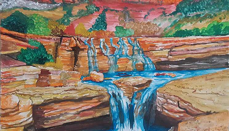 Pastor's Painting2