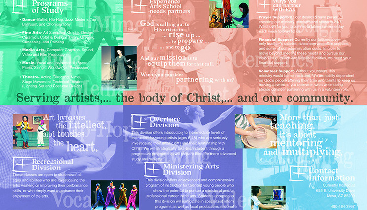Art School Brochure