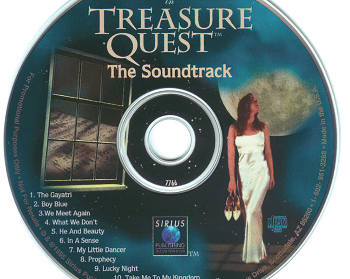 Treasure Quest Soundtrack CD