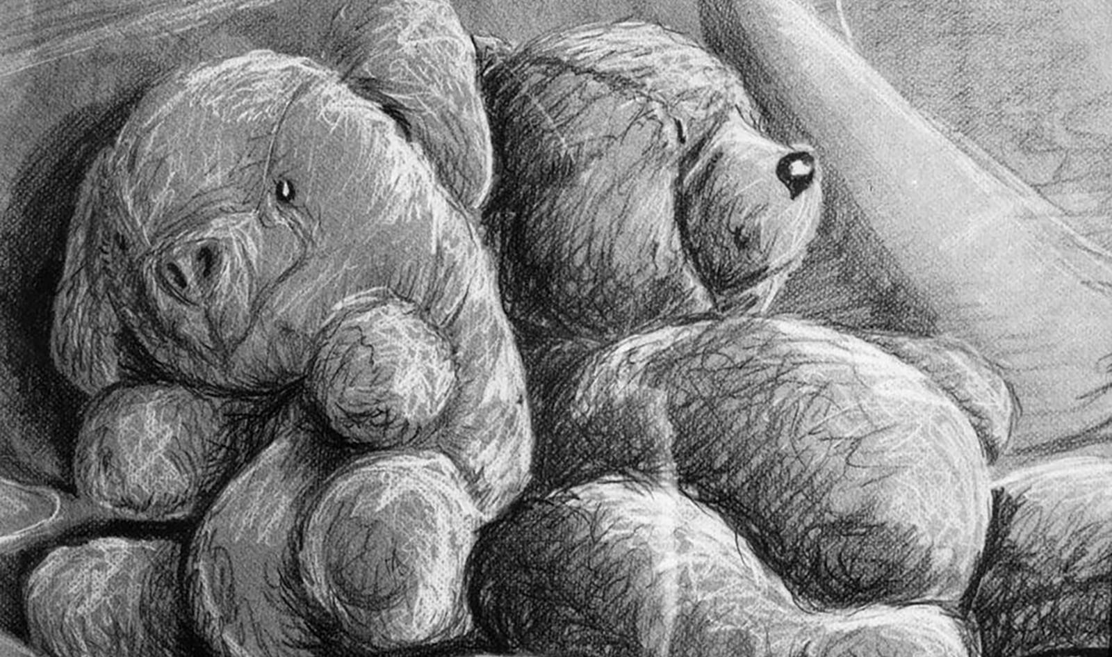 Bear and Pig still life