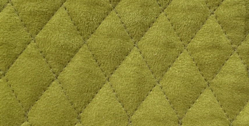 Soft Green Quilted