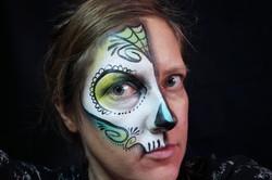 Face Painting, Skull, Sugar Skull