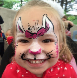 Face Painting, Cat, Girl