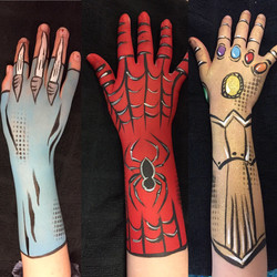 Body Painting, Arm Painting