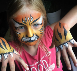 Face Painting, Tiger, Body Painting, Claws