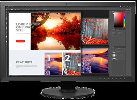 מדריך לרכישת מסך. לצלמים, עורכי וידאו ומעצבים גרפיים